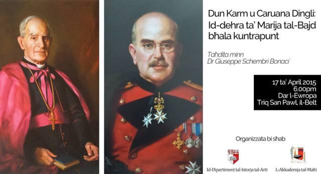Dun Karm - Caruana Dingli