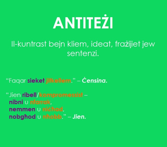 antiteżi