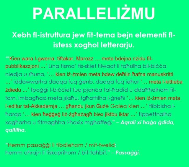 paralleliżmu